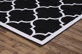 black moroccan trellis rug med art home design posters