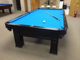 remarkable rectangle black brown wooden kasson pool table