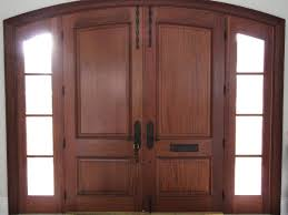 wood front door for beautiful home design idea
