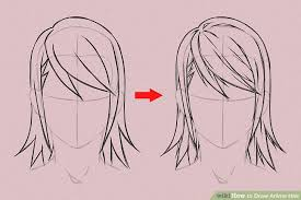 shonen hairstyles 6 ways to draw anime hair wikihow