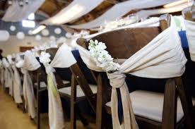 diy chair sashes picture of chair decor ideas with fabric and ribbon