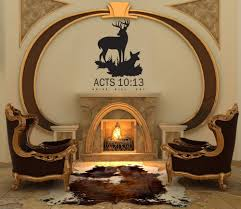 deer hunting decal acts 10 13 arise wall decal vinyl