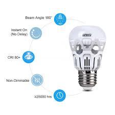 Led Light Bulbs 40 Watt Equivalent by Sansi 40 Watts Equivalent Led Light Bulb 4 Pack Nh Tech