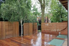 jdh joinery and timberscape hampstead hard wood slatted garden