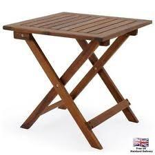 Small Wood Folding Table Wooden Folding Picnic Table Ebay