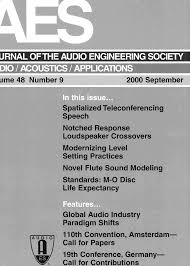 aes e library complete journal volume 48 issue 9