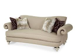 hollywood swank chocolate sofa by aico aico living room furniture