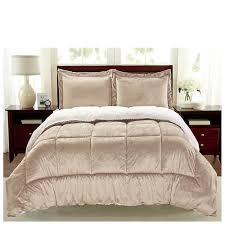 Faux Fur Comforter Set King Sherpa Faux Suede Comforter Set Gallery