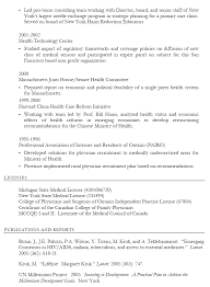Resume Sample Harvard by Professional Health Care Resume Sample Displaying Summary And