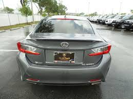 lexus of jacksonville hours pre owned 2016 lexus rc 200t 2dr car in jacksonville 73331a