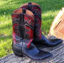 lucchese s boots size 11 lucchese classics lizard cowboy boot s size 11