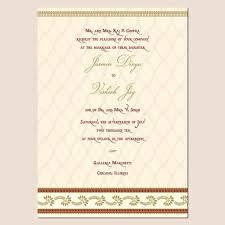 wedding invitation sles wedding invitation wording templates hindu popular wedding