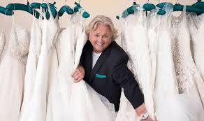 wedding dress maker princess dianas wedding dressmaker david emanuel on say yes to the