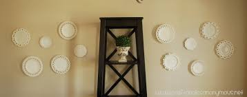 make your own hanging l 47 wall hanging plate holder practical metal hanging dish rack wall