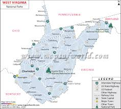 virginia state parks map virginia national parks map