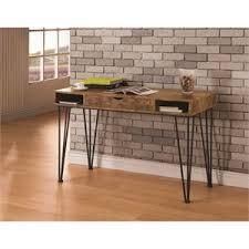 Furniture Of America Computer Desk Canyon Brown Writing Desks For Sale Executive Desks Cheap L Shape Desks