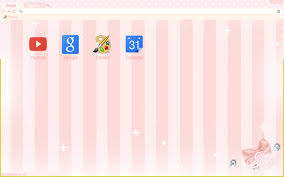 chrome themes cute kat s fancy pink theme chrome web store