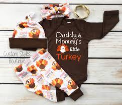 baby boys thanksgiving brown infant bodysuit