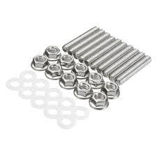 si es auto b car intake manifold extended stud studs bolt kit b d h f b18 si for