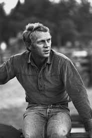 haircut steve mcqueen style mcqueen wearing a sweater tapered pants and his brown suede
