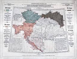 Marian University Map Mapping Rohatyn 1893 Geological Map U2013 Rohatyn Jewish Heritage