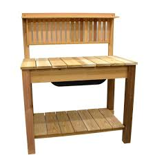 potting bench garden center outdoors the home depot