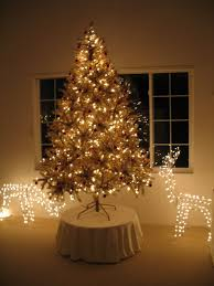 toasted chagne gold tinsel artificial tree treetopia