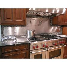 Where To Buy Stainless Steel Backsplash - stainless steel backsplashes from stainless living