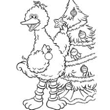 15 free printable sesame street coloring pages