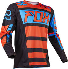 fox kids motocross gear 2017 fox falcon kids youth 180 hc motocross jersey black orange