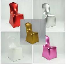 Chair Cover For Wedding 2017 Bronzing Elastic Spandex Chair Cover For Wedding Hotel
