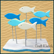 craft klatch easy of fish woodworking diy projects