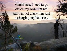 recharging my batteries learning in life