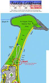 Palm Beach Map Fear And Loathing On Sydney U0027s Beaches A Fat Run