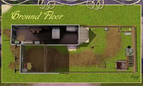 mod the sims lower town long houses white stone city
