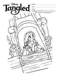 disney tangled coloring pages printable coloring pages