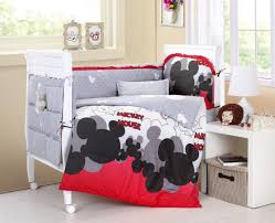 Red Boy Crib Bedding by Crib Sets Mickey Mouse Creative Ideas Of Baby Cribs