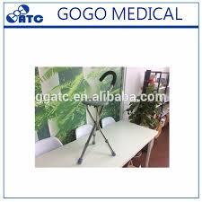 canne de marche avec siege gogo pour les personnes âgées de marche outils inoxydable canne