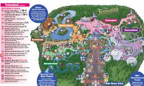 Dvc Map New Magic Kingdom Map Including Storybook Circus Photo 1 Of 1