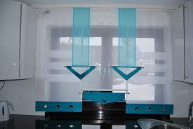 küche vorhänge modern haus design ideen