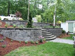 wall ideas gabion retaining wall design software stone retaining