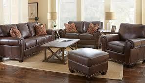 Top Grain Leather Living Room Set Brown Living Room Set Ecoexperienciaselsalvador