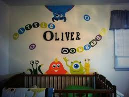 monsters inc wall stickers home design