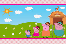 peppa pig at the farm free printable invitations is it for