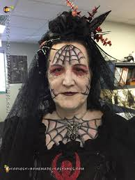 black widow spider bride costume