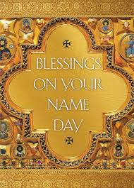 blessing cards blessing on your name day pack of 10 cards ancient faith store