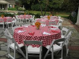 Backyard Bbw Merry Brides U2014 Barbecue Rehearsal Dinner