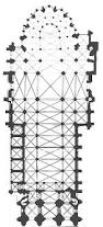 Gothic Architecture Floor Plan Medieval St Denis Maps And Plans
