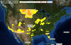 United States Drought Map by Drought Improves For Many In Us Weatherboy