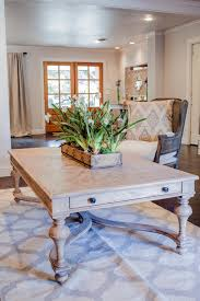 photos hgtv fixer upper gorgeous wood coffee table in living room